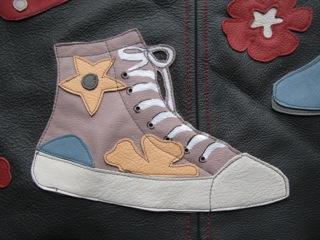 Detail: Tasche für Schuhfreunde