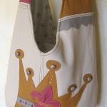 Tasche mit Königskrone