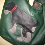 Tasche mit Schnautzer-Motiv