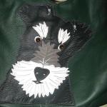 Tasche mit Schnauzer-Motiv