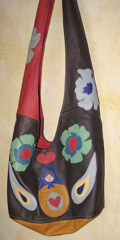 fertige Matrioschka-Tasche